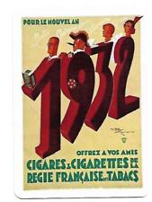 SM32 SINGLE swap playing cards MINT cigarettes REGIE FRANCAISE des TABACS