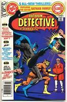 DETECTIVE COMICS #485 VF, Batman Family, Giant, DC Comics 1979