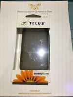 Telus Branded Gelskin For Blackberry Classic - Black