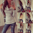 Boho Fashion Womens Long Sleeve Loose Casual Tee Shirt Ladies Tops Blouse