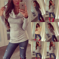 Women Fashion Hoodies Sweatshirt Casual Jacket Coat Outerwear Blouse Tops