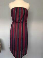 Vintage Boobtube Dress / Beach Cover Up