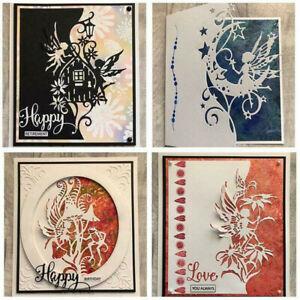 Fairy Metal Cutting Dies Scrapbooking Stencil DIY Scrapbook Paper Card Craft