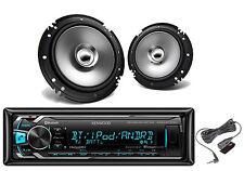 Kenwood Coaxial 2Way Car Speakers, Kenwood Bluetooth iPod USB AUX Mp3 Car Radio