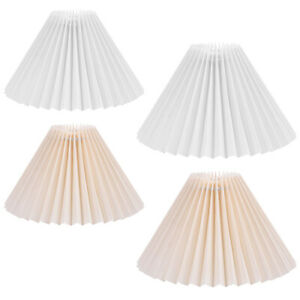 Retro Cloth Lamp Shade Replacement Lampshade Light Cover Removable Bedroom