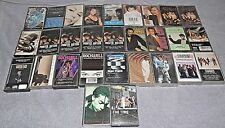 LOT OF 29 CASSETTE TAPES R&B, SOUL, DANCE, POP, RAP 1980'S, EARLY 90'S H TO T