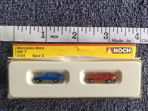 NOCH Z Scale # 4724 / 47240 Mercedes Benz 250 T Station Wagon Set