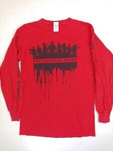 The Hateful Eight T-shirt Long Sleeve Movie Promo Small Tarantino panavision 70