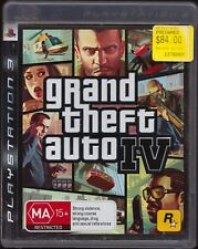 Grand Theft Auto IV PS3 (GTA 4) Preowned