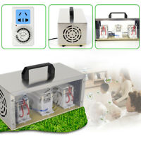30g/h 110V Ozone Generator Disinfection Machine Water Air Filter Purifier & Fan