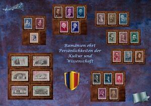 Musik und Philatelie: Rumänien 1956-1960 - xx MNH -
