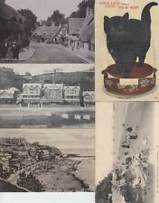 ISLE OF WIGHT ANGLETERRE U.K.  20 Cartes Postales 1900-1940.