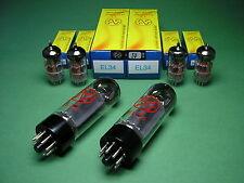 Röhrensatz = 2 x EL34 JJ (matched Pair) + 4 x ECC83S JJ NEU -> Marshall tube amp