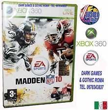 MADDEN NFL 10 FOOTBALL XB 360 GIOCO NUOVO PER XBOX 360