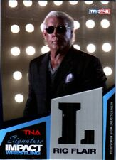 "TNA Ric Flair ""L"" 2011 Signature Impact BLUE Event Worn Armani Suit SN 10 of 25"
