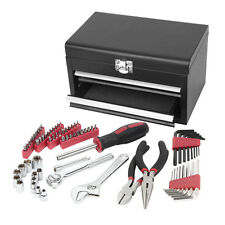 75-Piece Standard (SAE) and Metric Combination Mechanic's Tool Set by Task Force