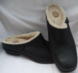 NEW UGG Size 9 Australia LANGFORD Comfort Clogs Slip-On Sheepskin/Fur, black