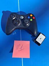 Manette Xbox 360 Noir Officiel (Joystick Abîmé) a pile
