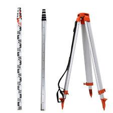 Survey 165m Tripod 5m Staff Kit For Laser Level Surveying Construction Lasers