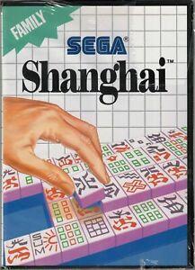 Shanghai (Sega Master System, 1988) Factory Sealed