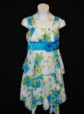 Sz 10 My Michelle Girls Sundress Wedding Bride pageant Party Holiday Church