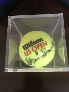 STAN SMITH '71 US Open Autographed Wilson Tennis Ball