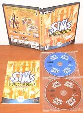 Los Sims SuperStar (expansión) [PC CD-ROM] EA Maxis, Versión Española ¡COMPLETO!