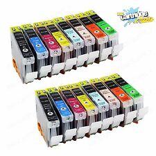16 Pack CLI8 CLI-8 Ink For Canon Pixma Pro6000 Pro6500 Pro9000 Mark II