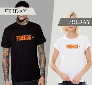 VLONE FRIENDS Big V Tee Herren Damen Kurze Ärmel Kurzarm T-shirt Freunde Style