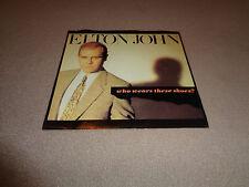 "Elton John - Who Wears These Shoes? - Geffen 7"" Vinyl 45 - PS - 1984 - NM-"
