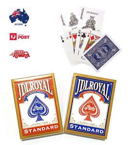Premium Playing Cards Standard  Decks Poker Plastic Coated Card Games Waterproof