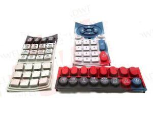 Replacement Rubber Keypad Complete Set Van Dorn Pathfinder 2500 3000 4500 5000