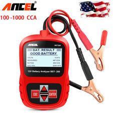 Ancel BST200 Car 12V Battery Load Tester 1100CCA Car Battery Digital Analyzer