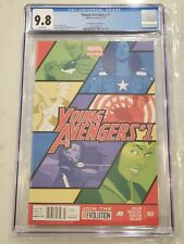 Young Avengers #1 Newsstand Edition CGC 9.8 America Chavez Only 1 9.8 in Census