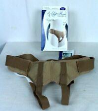 """Soft Form Hernia Belt Medium Beige 67-350MDBEG Fits Hips 35-41"""" FLA Orthopedics"""