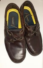 Timberland Size 13 Non-Marking Leather Boat Shoes Model No. 710264783