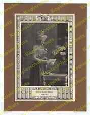 TH Voigt Kaiserin Auguste Viktoria Krone Schmuck Perlen Adel Wappen Homburg 1913