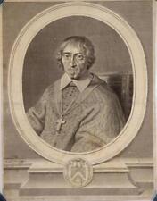 """Eau-forte et burin de l'ASNE, """"Portrait d'un religieux"""""""