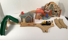 Thomas Wooden Railway GREAT WATERTON STATION, STAIRS MORGAN'S MINE Discovery Lot