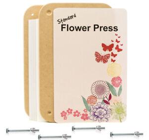 Peak Dale Standard flower press MDF board 275 x 175mm thick card blotting paper