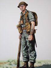 MILITARY POSTCARD-SERGEANT 2ND BN DORSETSHIRE REGIMENT BURMA 1944- ALIX BAKER