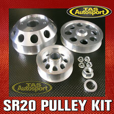 Nissan SR20DET Lightweight Pulley Set S13 S14 S15 180sx Silvia 200sx SR20