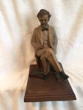 Tom Clark Statue Mark Twain retired Cairn Studio
