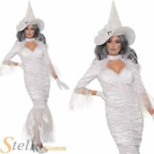 Ladies Spell Weaver Costume Halloween Witch Fancy Dress Outfit