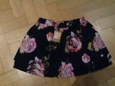 NWT Juicy Couture New & Genuino Niña 10 años Algodón Floral Falda Con Juicy Logo