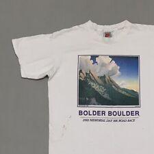 New listing Vintage 1993 Boulder Boulder Nike Gray Tag T Shirt Size Medium