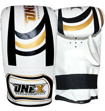 Pro Style Heavy Bag Training Boxing Gloves Fight Punch Bag Mitts MMA Training