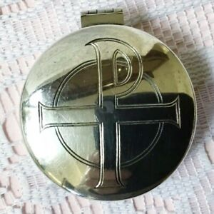 1974 Hayes & Finch Solid Silver Hinge Lid Pyx, Holy Communion Wafer Box. 38.95g