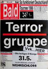 TERRORGRUPPE - 1996 - Konzertplakat - Melodien für... - Tourposter - Bremen - B