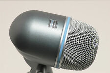 SHURE BETA52 KICK DRUM MICROPHONE & 15' CABLE beta beta52a 52 52a bass mic